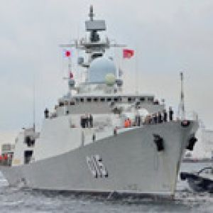Tàu chiến Việt Nam lần đầu thăm Nhật Bản